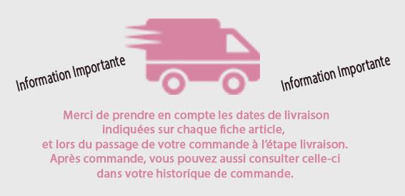 info livraison
